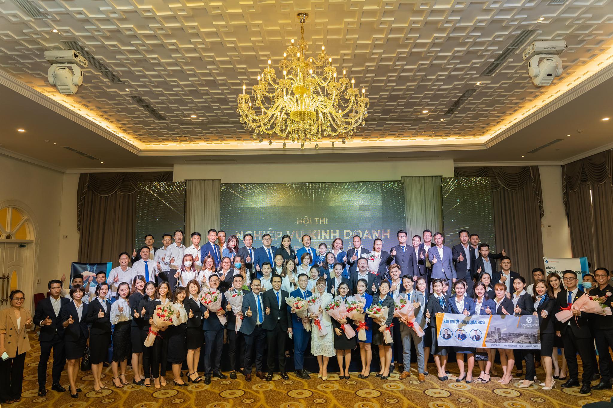 Hội thi nghiệp vụ kinh doanh bất động sản Southernhomes Việt Nam lần thứ 5