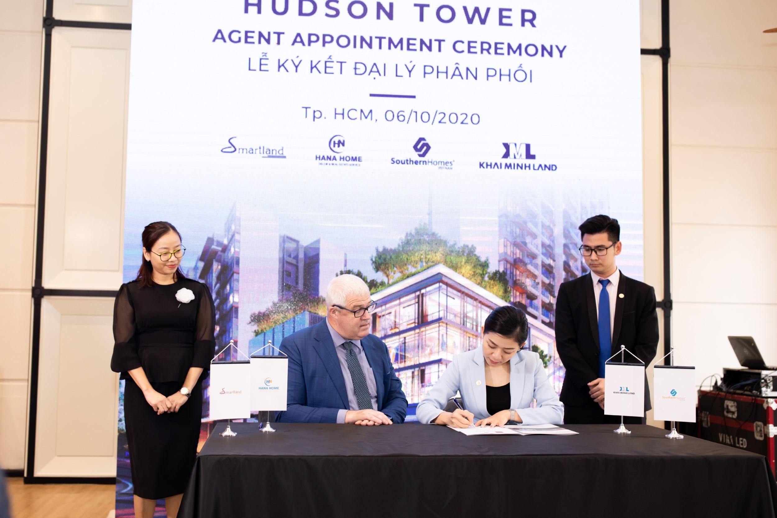 Hudson Tower - Agent Appointment Ceremony - Lễ kí kết đại lý phân phối The River Thủ Thiêm