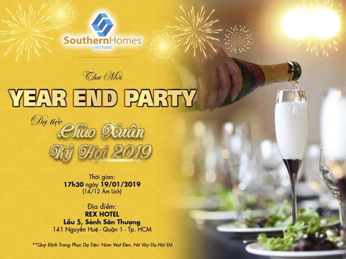 YEAR END PARTY – DẠ TIỆC CHÀO XUÂN KỶ HỢI 2019