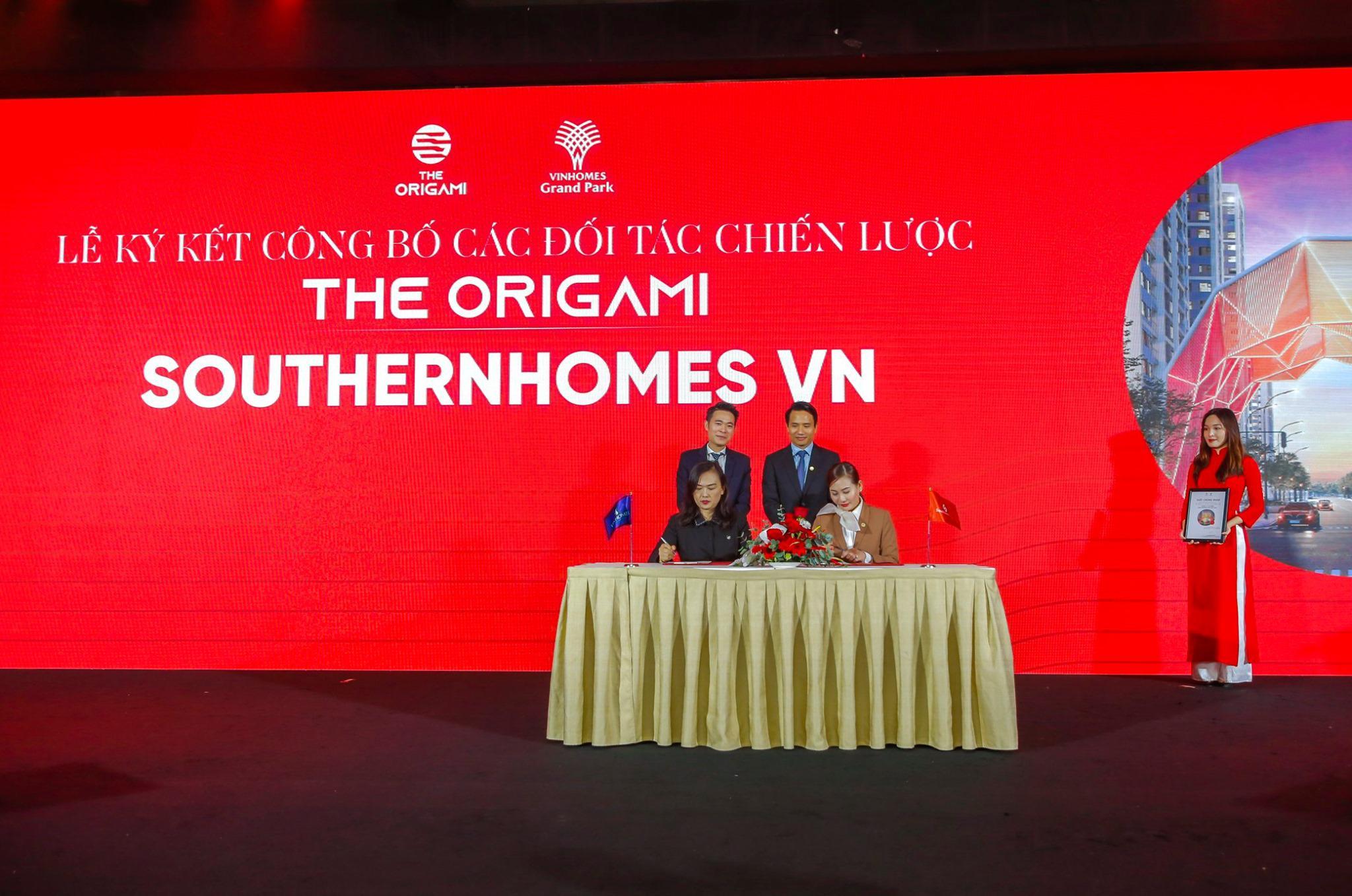 Vinhomes công bố đối tác chiến lược của dự án The Origami