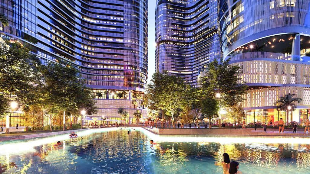 Cuộc sống xanh thông minh trong dự án 4.0 Sunshine City Sài Gòn