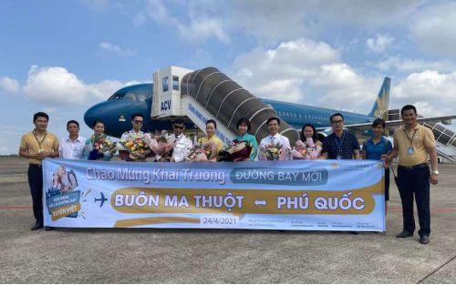 Vietnam Airlines khai thác thêm chín đường bay đến Phú Quốc