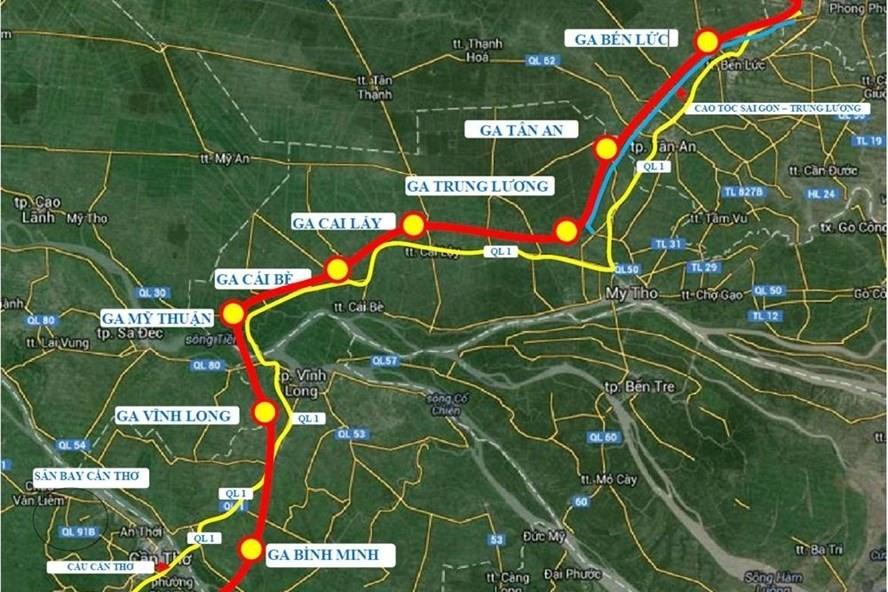 TPHCM: Thống nhất làm tuyến đường sắt TPHCM - Cần Thơ 10 tỉ USD