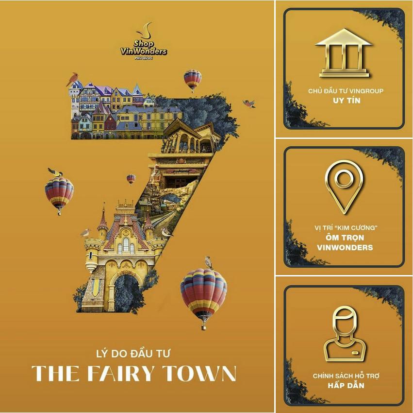 7 LÝ DO ĐẦU TƯ THE FAIRY TOWN