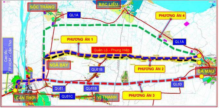 Đột phá với đường cao tốc Cần Thơ - Cà Mau